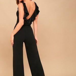 Lulus Backless Jumpsuit